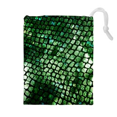 Dragon Scales Drawstring Pouches (extra Large) by KirstenStar