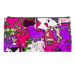 Ink Shapes                                                                         	pencil Case