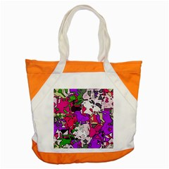 Ink Shapes                                                                         			accent Tote Bag by LalyLauraFLM