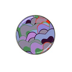 Wavy Shapes Pieces                                                                          hat Clip Ball Marker by LalyLauraFLM