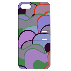 Wavy Shapes Pieces                                                                          apple Iphone 5 Hardshell Case With Stand by LalyLauraFLM