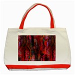 Fairy Tree Bark Classic Tote Bag (Red)