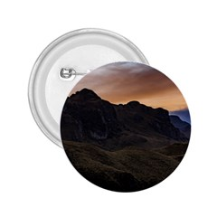 Sunset Scane At Cajas National Park In Cuenca Ecuador 2 25  Buttons by dflcprints