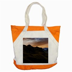 Sunset Scane At Cajas National Park In Cuenca Ecuador Accent Tote Bag by dflcprints