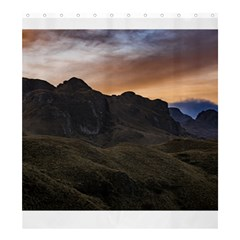 Sunset Scane At Cajas National Park In Cuenca Ecuador Shower Curtain 66  X 72  (large)  by dflcprints