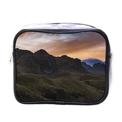 Sunset Scane At Cajas National Park In Cuenca Ecuador Mini Toiletries Bags by dflcprints