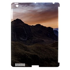 Sunset Scane At Cajas National Park In Cuenca Ecuador Apple Ipad 3/4 Hardshell Case (compatible With Smart Cover) by dflcprints