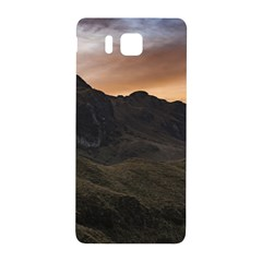 Sunset Scane At Cajas National Park In Cuenca Ecuador Samsung Galaxy Alpha Hardshell Back Case by dflcprints