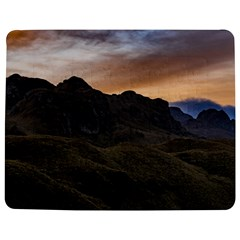 Sunset Scane At Cajas National Park In Cuenca Ecuador Jigsaw Puzzle Photo Stand (rectangular) by dflcprints