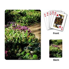 Shadowed Ground Cover Playing Card by ArtsFolly