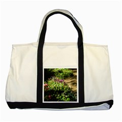 Shadowed Ground Cover Two Tone Tote Bag by ArtsFolly
