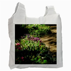 Shadowed Ground Cover Recycle Bag (one Side) by ArtsFolly