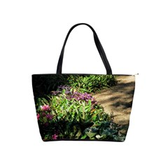 Shadowed Ground Cover Shoulder Handbags by ArtsFolly