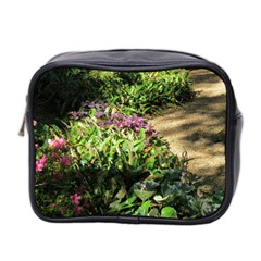 Shadowed Ground Cover Mini Toiletries Bag 2 Side by ArtsFolly