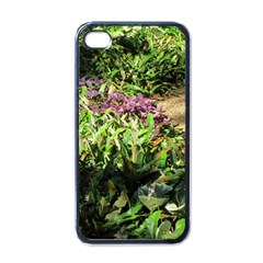 Shadowed Ground Cover Apple Iphone 4 Case (black) by ArtsFolly
