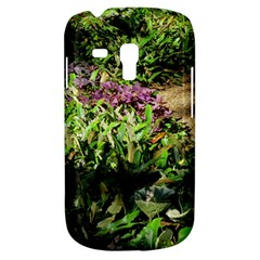 Shadowed Ground Cover Samsung Galaxy S3 Mini I8190 Hardshell Case by ArtsFolly