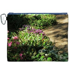 Shadowed Ground Cover Canvas Cosmetic Bag (xxxl) by ArtsFolly