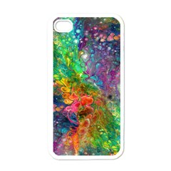 Reality Is Melting Apple Iphone 4 Case (white)
