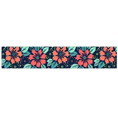 Tropical Flowers Flano Scarf (large) by olgart