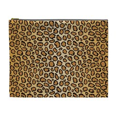Leopard Cosmetic Bag (xl) by olgart