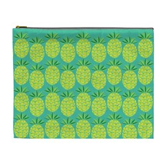 Pineapples Cosmetic Bag (xl) by olgart