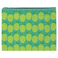Pineapples Cosmetic Bag (XXXL)  by olgart