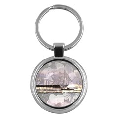 Greenoceansquarre Key Chain (round) by lynngrayson