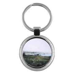 Mavericks Key Chain (round) by lynngrayson