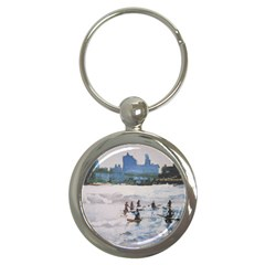1stsupaddlecirclenyc Key Chain (round) by lynngrayson