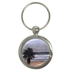 Veniceoceanpalm Key Chain (round) by lynngrayson