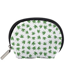 Marijuana Pattern Accessory Pouches (Small)  by stockimagefolio