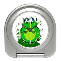 Green Frog Travel Alarm Clocks