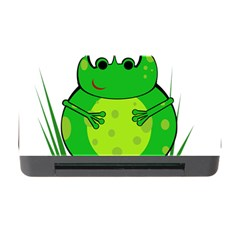 Green Frog Memory Card Reader With Cf by Valentinaart