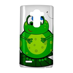 Green Frog Lg G4 Hardshell Case by Valentinaart