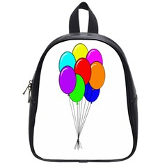 Colorful Balloons School Bags (small)  by Valentinaart