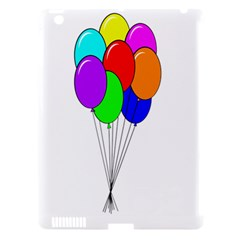 Colorful Balloons Apple Ipad 3/4 Hardshell Case (compatible With Smart Cover) by Valentinaart