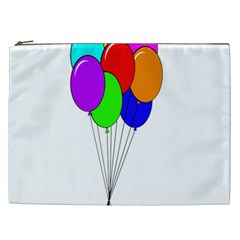 Colorful Balloons Cosmetic Bag (xxl)  by Valentinaart