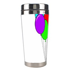 Colorful Balloons Stainless Steel Travel Tumblers by Valentinaart