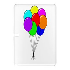 Colorful Balloons Samsung Galaxy Tab Pro 12 2 Hardshell Case by Valentinaart