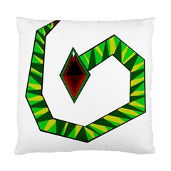 Decorative Snake Standard Cushion Case (one Side) by Valentinaart