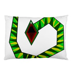Decorative Snake Pillow Case by Valentinaart