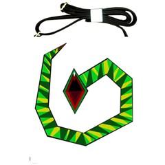 Decorative Snake Shoulder Sling Bags by Valentinaart