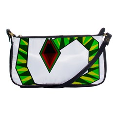 Decorative Snake Shoulder Clutch Bags by Valentinaart