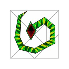 Decorative Snake Acrylic Tangram Puzzle (4  X 4 ) by Valentinaart