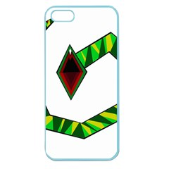 Decorative Snake Apple Seamless Iphone 5 Case (color) by Valentinaart