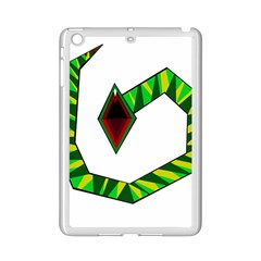 Decorative Snake Ipad Mini 2 Enamel Coated Cases by Valentinaart