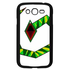 Decorative Snake Samsung Galaxy Grand Duos I9082 Case (black) by Valentinaart