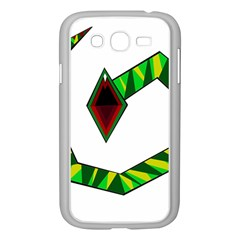 Decorative Snake Samsung Galaxy Grand Duos I9082 Case (white) by Valentinaart