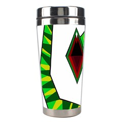 Decorative Snake Stainless Steel Travel Tumblers by Valentinaart