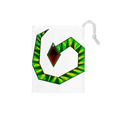 Decorative Snake Drawstring Pouches (Small)